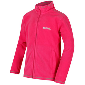 Regatta King II Fleece Jacket Kids Hot Pink